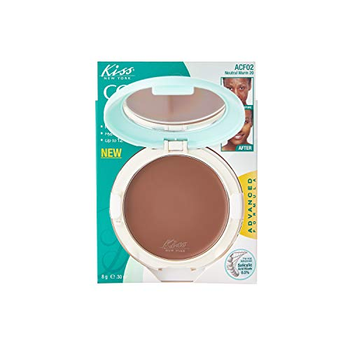 Kiss Cover and Care Cream Foundation Neutral Warm (ACF02)