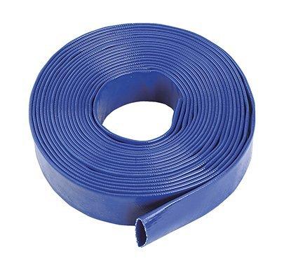 Blauwe Layflat Waterontladingsslang Pomp Irrigatie - 76mm (3