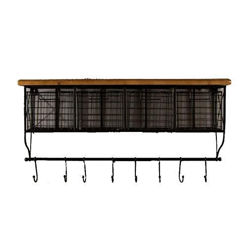 Wandrek, eenvoudige wandplank, het is van toepassing op het woord rooster lade opslag rack opslag rack afwerking keuken muur