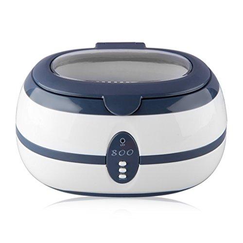 FLOUREON 600ML Ultraschall Gerät Ultrasonic Cleaner Reiniger Reinigungsgerät für zuhause