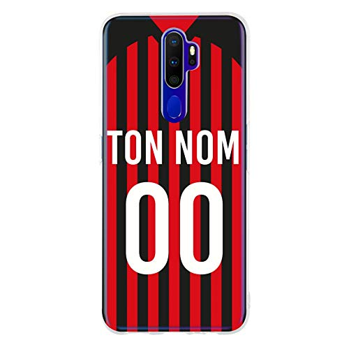 FRenchCase - Cases Home Shirt Milan-AC voor A9 2020