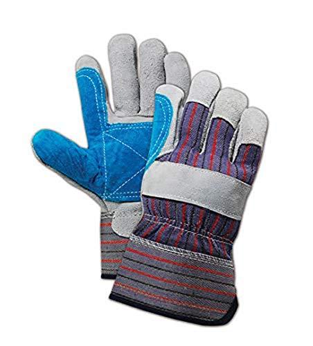 MAGID Top Gunn TB905EDP Leather Glove, Safety Cuff, Large (36 Pair)