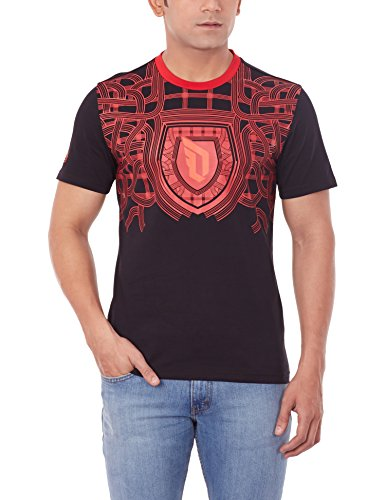 adidas Herren T-Shirt Dame Fly Tee, Schwarz/Rot, S, 4056562063706