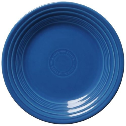 Fiesta Salad Plate, 7-1/4-Inch, Lapis by Homer Laughlin