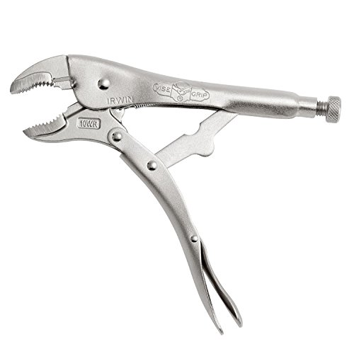 IRWIN VISE-GRIP Original Locking Pliers with Wire Cutter, Curved Jaw, 10-Inch (502L3)