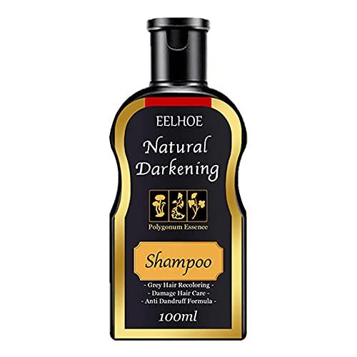 Polygonum Multiflorum Shampoo, 100/200 Ml CHAMPO DE CHAMPO DE Cabello HUMOSA HUMOSA del Pelo DE OSCUMENCIA DE OSCUERDO DE Cuidado DE Pelo Negro CHAMPOO Color Natural Color DE Color Color para Mujeres