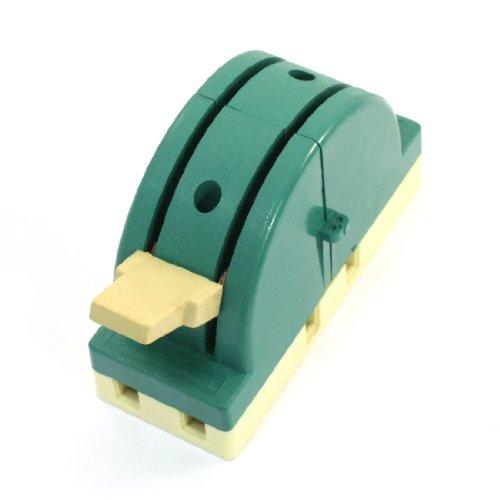 uxcell 断路器 オープニング負荷ナイフスイッチ 250VAC 63A 2P 2投 電子回路 グリーン