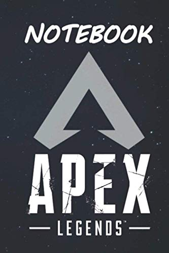 Notebook Apex Legends Journal for Writing: College Ruled Size 6' x 9', 120 Pages