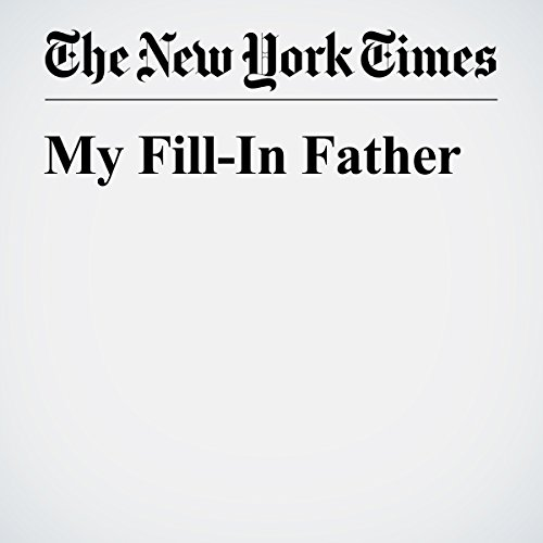 My Fill-In Father audiobook cover art