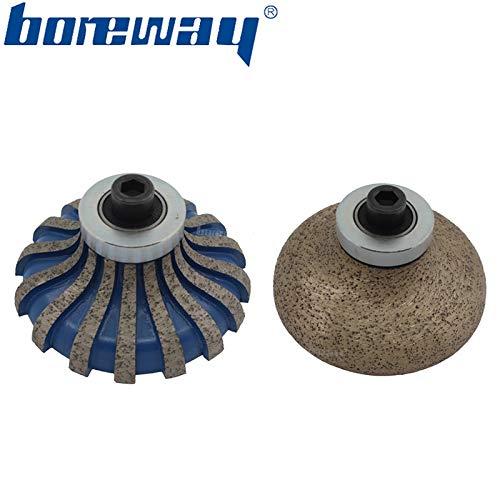 Buy Xucus Boreway F30M8 Metal Diamond Router Bit Pos0 And Pos1 For Portable Grinding Machine Granite...