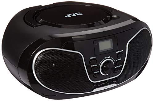 JVC RD-N327 Portable Bluetooth Radio CD/MP3 Player Boombox (110-240V)