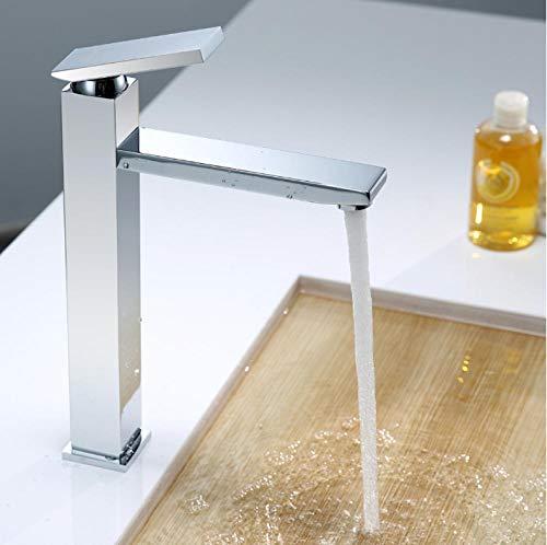 Volledig koper warm en koud wastafel waterkraan badkamer wastafel boven de badkamertafel onderkast drukarmatuur verlenging.