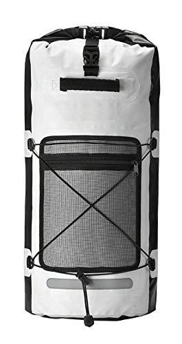 Wasserdichter Sportrucksack XL 50L. Große wasserdichte Sporttasche Koffer für Sport zum Radfahren, Schwimmen, Kajakfahren und Wandern