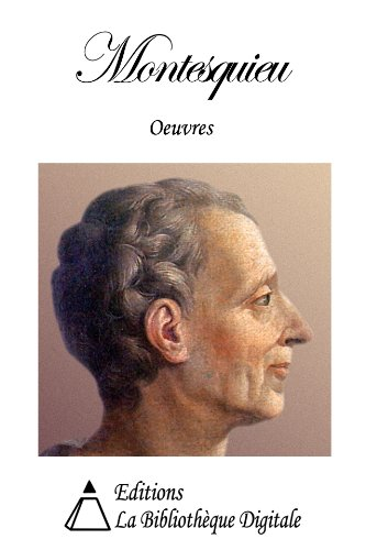 Oeuvres de Montesquieu