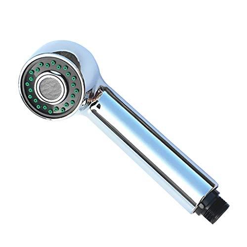 Viesky Cabezal de ducha de repuesto para utensilios de cocina y lavavajillas, con caño de plástico ABS, para ahorrar agua