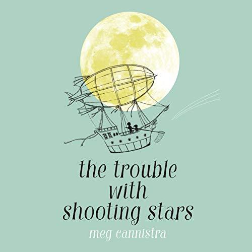 Diseño de la portada del título The Trouble with Shooting Stars