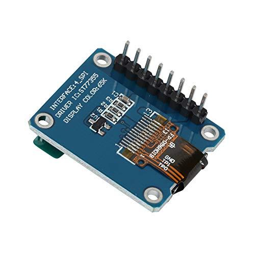 LDDLDG 0,96 Zoll HD IPS Farb-LCD-Anzeigemodul 80x160 3,3 V SPI ST7735 Für Arduino LCD-Platinen-Anzeigetafel