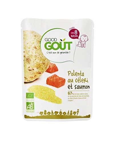 Good Goût - BIO - Polenta au Céleri et Saumon dès 8 Mois 190 g