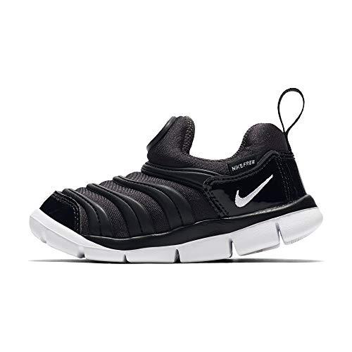 Nike Unisex Kinder Dynamo Free (td) Hausschuhe, Schwarz (Anthracite/White/Black 013), 21 EU