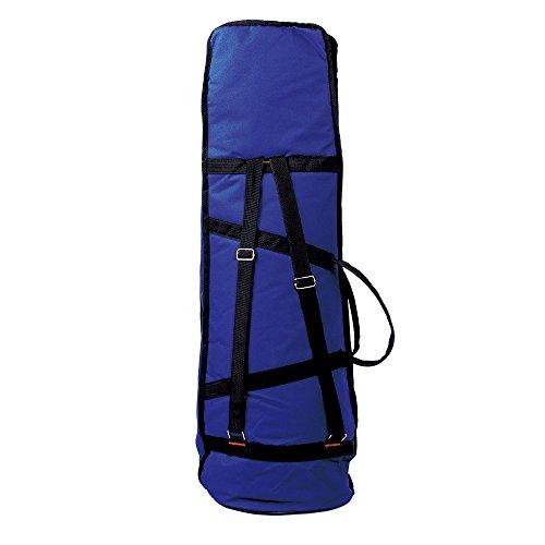 Andoer 600D Water-resistant Trombone Gig Bag Oxford Cloth Backpack Adjustable Shoulder Straps Pocket 5mm Cotton Padded for Alto/Tenor Trombone