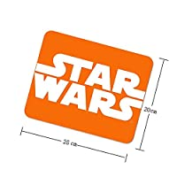 スター・ウォーズ Star Wars 8 ラップトップおよびコンピューター用のマウスパッドノンスリップ防水ゴムゲームマウスパッド長方形