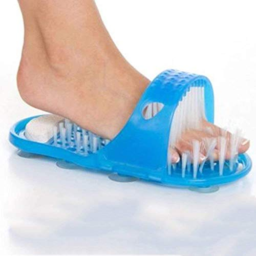 Shower Foot Feet Cleaner Scrub Scrubber Cleaner Washer Easy Exfoliating...