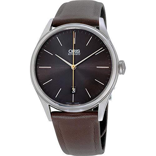 Oris Artelier Reloj de Hombre automático 40mm 01 733 7721 4083-LSBRN