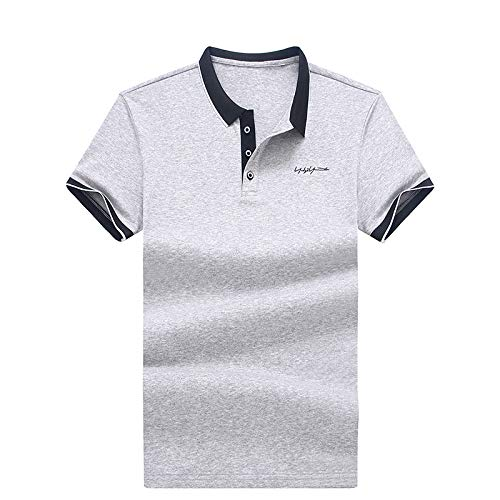 Herren Kurzarm Polo, Sommer einfaches Kurzarm Top, Polo Shirt