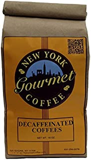 Decaffeinated French Vanilla Coffee   1Lb bag - Fine Grind   New York Gourmet Coffee