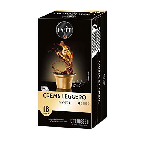 Cafet para Cremesso, Crema Leggero 16 cápsulas