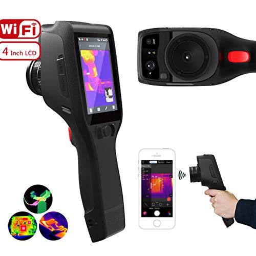 Clever Hand Infrarot-Wärmebildkamera, Industrie IR-Wärmebildgeräte, WiFi Verbindung SD-Karte 32G große Kapazitäts in der Nacht Patrouillieren Jagen Sicherheit