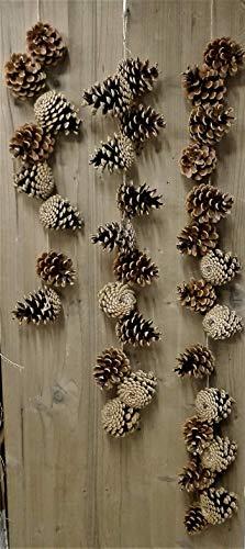 Zapfen Girlande Kette in 3 Längen Mobilé Natur