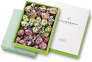 【モンロワール】 リーフメモリーギフトボックス(橙・桃・緑 約均等(計36個))
