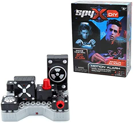 SpyX DIY Motion Alarm Protect Your Stuff STEM Educational Science Kit To Make Your Own Real product image