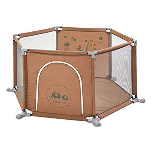 YLLSB-Baby fence Antideslizante para BebéS Parque Infantil