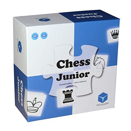 Chess Junior - Das Schachspiel für Kinder - nominiert zum Besten Spielzeug des Jahres, Blau [deutsch]
