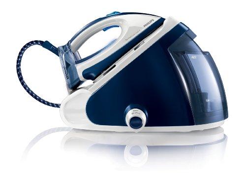 Philips GC9224/20 PerfectCare Expert Centrale Vapeur Repassage sans Réglage Autonomie Illimitée Bleu/Blanc...