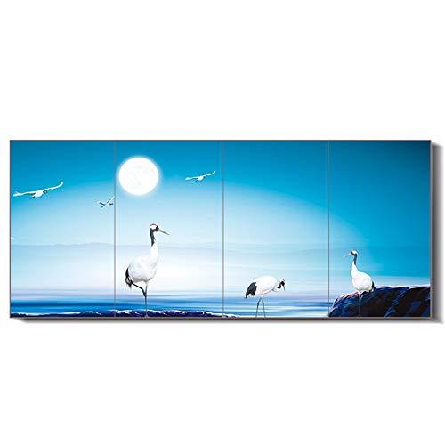 ONLYXKZ Produkt Vier in One1000 * 2400Mm 2000W Bild Far Infrared Flächenheizkörper Elektrowandheizung,B,1000 * 2400mm