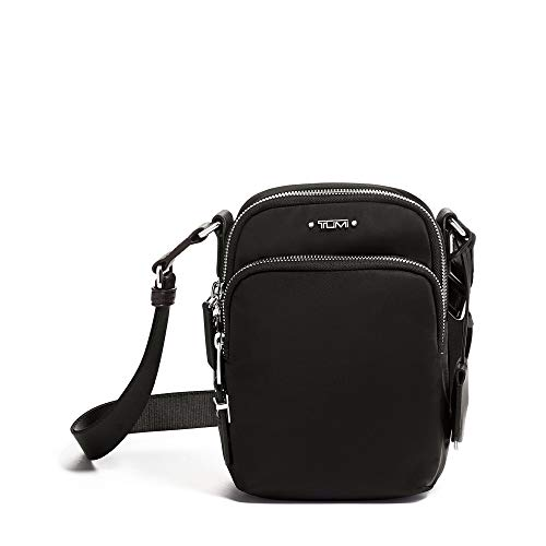 TUMI - Voyageur Ruma Crossbody Bag - Over Shoulder Satchel for Women - Black/Silver