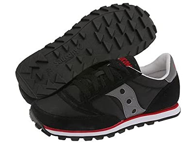 Saucony Originals Jazz Low Pro (Black/Dark Gray/Red) Women