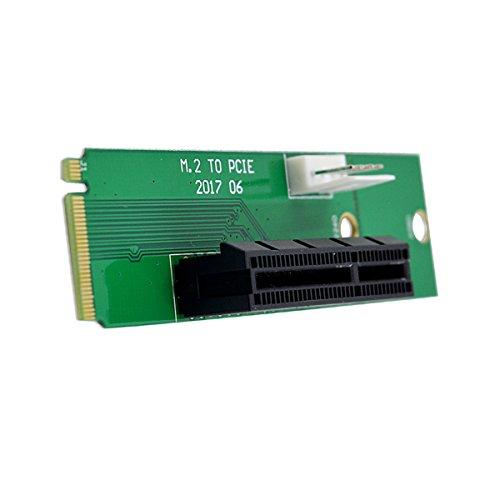 adaptare 46245 Adapter PCI-e x4 Steckplatz (M.2) SSD-Slot grün