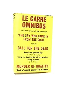 Hardcover Le Carre Omnibus: Murder of Quality and Call for the Dead Book