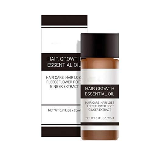 GAESHOW Crecimiento natural del cabello Aceite Ginseng Cuero cabelludo Salud Tratamiento de la pérdida del cabello Crecimiento líquido del cabello Crecimiento rápido del cabello