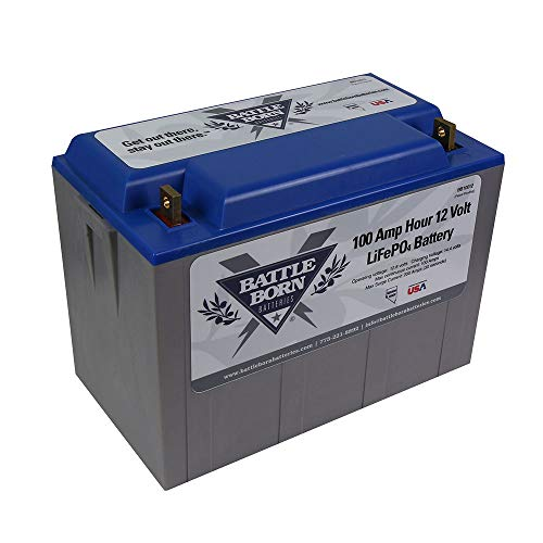 Battle Born Batteries LiFePO4 12 Volt Deep Cycle Battery