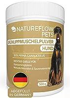 Natürliches Grünlippmuschelpulver Hund - 500g Grünlippmuschel für Hunde zur Unterstützung der Gelenkfunktionen -...