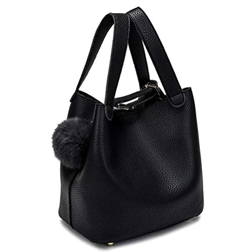 Yidajiu damestas, modieus, PU-leer, dames, handtassen, voor grote vrouwen, met bol, schoudertas