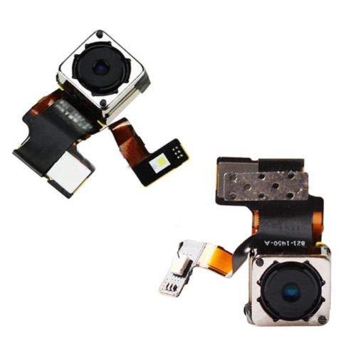 XcellentFixParts Cámara Trasera del Reverso - Cámara Trasera para iPhone 5 Repuesto Cámara Principal Autoenfoque con LED Flash, Rear Back Camera Main Camera