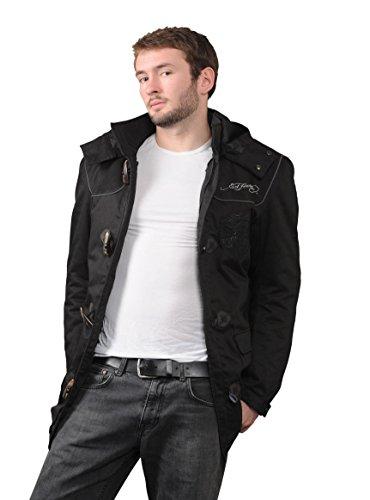 Ed Hardy EH105-015A-XXL Tiger Textiljacke, Größe : 2XL, Schwarz, Anzahl 1