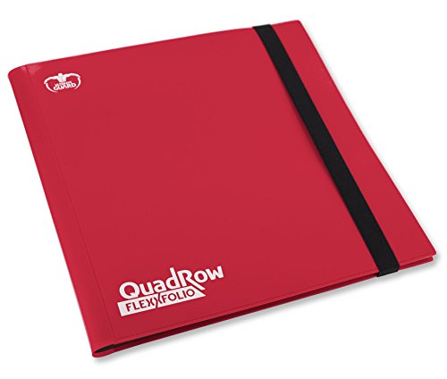 Ultimate Guard ugd10345–12-Pocket quadrow flexxfolio, Jeu de Cartes, Rouge