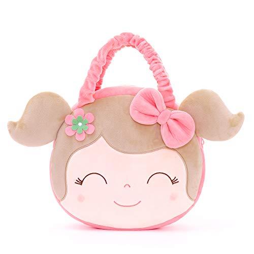 Gloveleya Puppen Baby Handtasche Plüsch Handtasches Kinder Tasche 9 Zoll